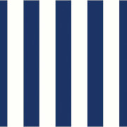 Holden Decor Candy Stripe Smooth Blue and White Wallpaper