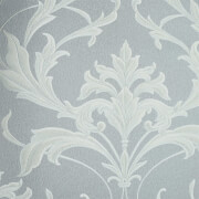 Boutique HWV Oxford Silver Grey Wallpaper