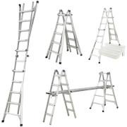 Werner Multi-Purpose Telescopic Combination Ladder - 4x5