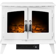 Adam Woodhouse Electric Stove - Pure White