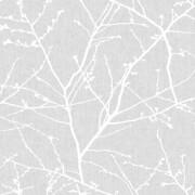 Superfresco Easy Paste the Wall Innocence Grey Wallpaper