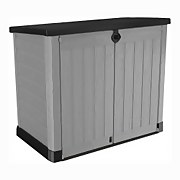 Keter Store It Out Ace Plastic Outdoor Garden Storage Shed 1200L - Grey / Graphite