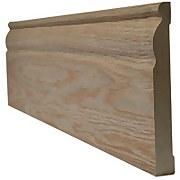 Ogee Internal Unfinished Oak Skirting - 148 x 3000mm