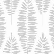 Boutique Lucia White & Silver Wallpaper