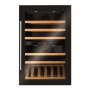 CDA FWV902BL 90cm Tall Multi Temperature Integrated Wine Cooler