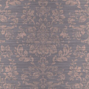 Arthouse Kyasha Damask Embossed Metallic Foil Rose Gold Wallpaper