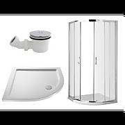 Balterley 800mm Quadrant Shower Enclosure Package (5mm Glass)