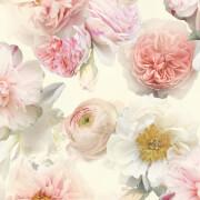 Arthouse Diamond Bloom Floral Textured Glitter Blush Pink Wallpaper