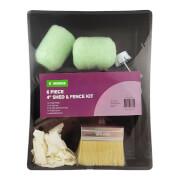 Homebase 6 Piece 4 Shed & Fence Kit