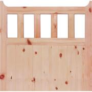 600 External Unfinished Redwood Gate - 915 x 1067mm