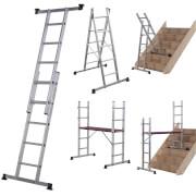 Werner Combination Ladder - 5 in 1 with Platform