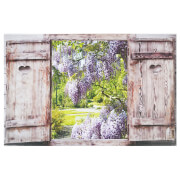 Shutter Garden Outdoor Canvas 59x90cm