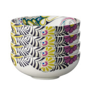 Denby Monsoon Cosmic Cereal Bowls - 4 Piece Set