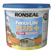 Ronseal Fence Life Plus - Warm Stone 5L