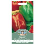 Mr. Fothergill's Sweet Pepper California Wonder Seeds
