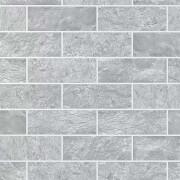 Contour Grey Tile Wallpaper