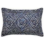 Cadenza Pillow Case Oxford - Indigo