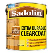 Sadolin Extra Durable ClearCoat Satin Clear - 2.5L