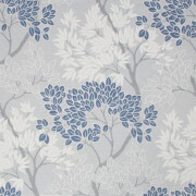 Fresco Lykke Tree Navy Wallpaper
