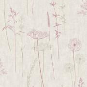 Superfresco Easy Wild Meadow Flowers Red Wallpaper