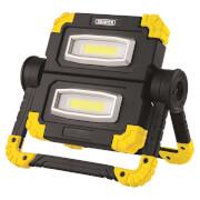 Draper 10W Rechargeable Twin COB Worklight