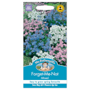 Mr. Fothergill's Forget Me Not Mixed Seeds