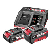 Ozito by Einhell Power X Change 18V 2.0Ah & 4.0Ah Battery & Charger Pack