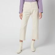 PS Paul Smith Women's Straight Leg Jeans - Cream