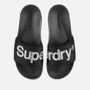 Superdry Men's Classic Scuba Slide Sandals - Black/Optic