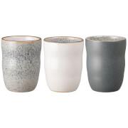 Denby Studio Grey Handless Mug (Set of 3)