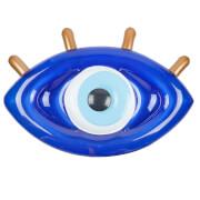 Sunnylife Float Away Lie On Greek Eye - Electric Blue