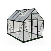 Palram - Canopia Hybrid 6x8ft Green Greenhouse