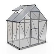 Palram - Canopia Hybrid 6x4ft Silver Greenhouse