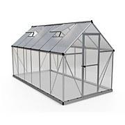 Palram - Canopia Hybrid 6x12ft Silver Greenhouse