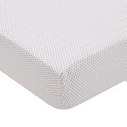 Rae Fitted Sheet Super King Size Heather