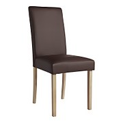 Marcy Dining Chair - Set of 2 - Chocolate