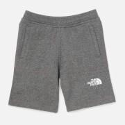 The North Face Boys' Youth Fleece Shorts - Grey