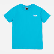 The North Face Boys' Youth Short Sleeve Simple Dome T-Shirt - Blue