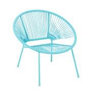 Homebase Acapulco Garden Chair - Blue