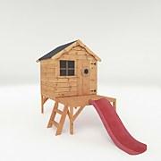 Mercia Snug Playhouse Tower and Slide