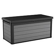 Keter Premier 150 Outdoor Plastic Garden Storage Box 570L - Grey