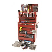 Hilka 271 Piece Tool Kit with Heavy Duty Tool Chest & Cabinet