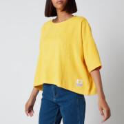 L.F Markey Women's Basic Towelling Top - Sunflower