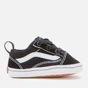 Vans Baby Old Skool Crib Trainers - Black/True White