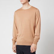 John Smedley Men's Clundy Crewneck Sweatshirt - Hazlenut