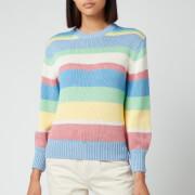 Polo Ralph Lauren Women's Stripe Classic Sweatshirt - Jersey Stripes
