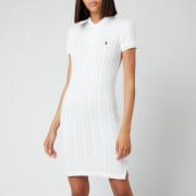Polo Ralph Lauren Women's Polo T-Shirt Midi Dress - White