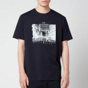 Armani Exchange Men's Photo Logo T-Shirt - Navy
