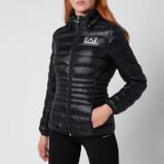 Emporio Armani EA7 Women's Train Core Lady Eco Down Jacket - Black