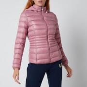 Emporio Armani EA7 Women's Train Core Lady Eco Down Jacket - Fox Glove